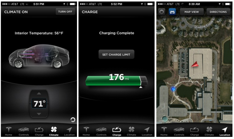 Tesla App For The Iphone