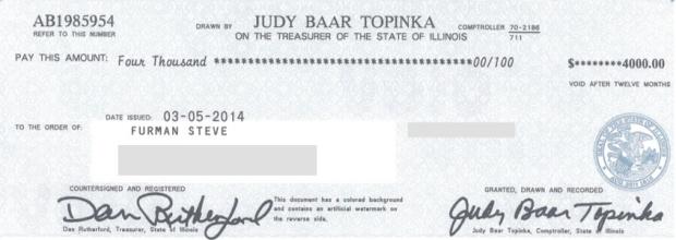 Rebate Check