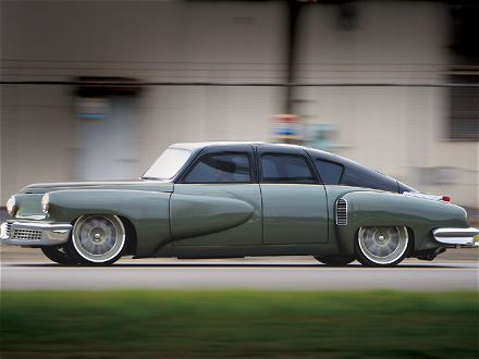 The Tucker 48 and the Model S |